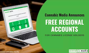 Cannabiz Media Announces Free Regional Subscriptions for Cannabis License Holders