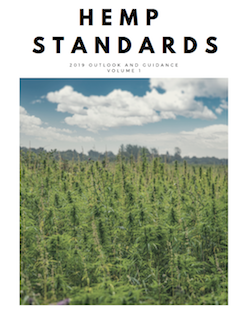 Document: Hemp Standards 2019 Outlook & Guidance Vol 1