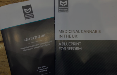 "Report: ""CBD in the UK: Towards a responsible innovative, and high-quality cannabidiol industry,"""