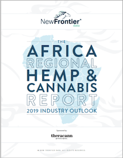 New Frontier Data Publishes Free Africa Cannabis Markets Report