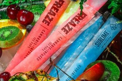 Summer Story: Freaze Ice Pops are hitting shelves at dispensaries in California this month.