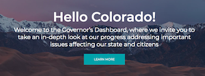 Jared Polis Announces The CO Governor's Dashboard