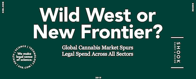"ALM and Shook, Hardy & Bacon Report Says 56% Of GC, ""will need to increase their legal resources to keep up with the cannabis market"""