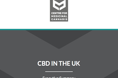"""UK: The Centre for Medicinal Cannabis (CMC) – Report """"CBD in the UK: Towards a responsible, innovative and high-quality cannabidiol industry"""""""