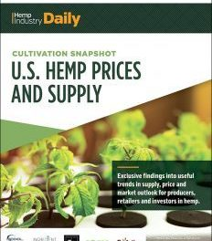 Free Report: Cultivation Snapshot: U.S. Wholesale Hemp Prices and Supply
