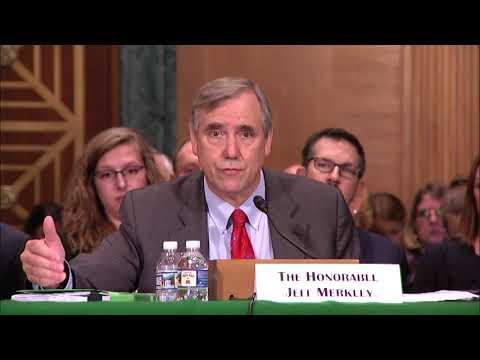 Jeff Merkley (OR) Testifies for Bipartisan SAFE Banking Act
