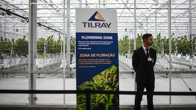 Tilray signs first deal to supply pot to Europe out of new Portugal facility