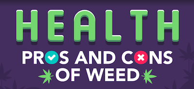 Infographic: Health Pros and Cons of Cannabis