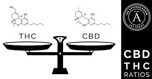 CBD and THC Ratio