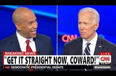 Democrat Debate: Cory Booker Exasperated By Biden – Cannabis