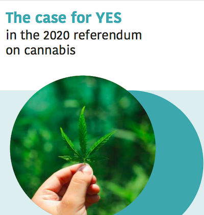 Former NZ PM Helen Clark's Foundation Publishes Report Asking People To Vote Yes In Upcoming Cannabis Referendum