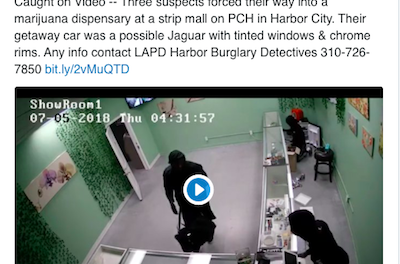 LA Weekly Publishes Feature Report On The Spate Of CA Cannabis Dispensary Robberies