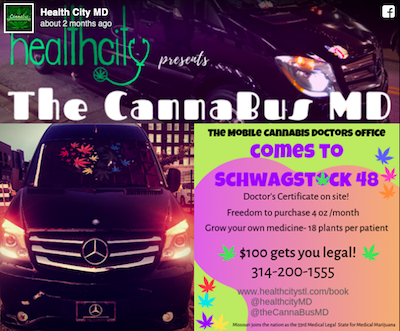 "The Case Of The ""St. Louis 'CannaBus' Marijuana Clinic"""