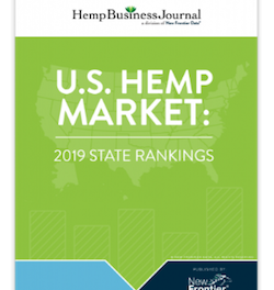 New Frontier Publish: The U.S. Hemp Market: 2019 State Rankings Report