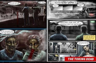 "Cannabis Zombie Comic In TM Fight With AMC Creators Of ""The Walking Dead"""