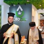 Archbishop Ireneos of Crete Blesses CBD Shop Opening On Island