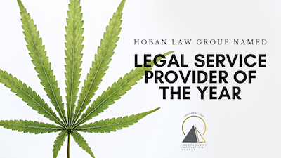"Canna Innovation Awards Announce, ""Hoban Law Group the Legal Service Provider of the Year."""