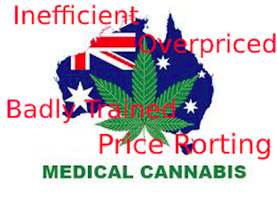 MCUA (Medicinal Cannabis Users Association Australia) survey says  prescribed medical cannabis is expensive, difficult to get hold of and training of medical professionals minimal.