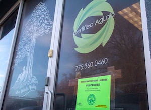 Nevada: Authorities shut down cannabis testing facility in Vegas over allegations of THC manipulation as well as mold & yeast issues