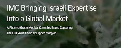 First Israeli Cannabis Company Lists on the CSE