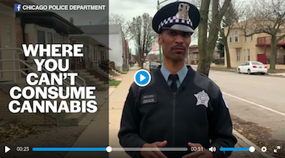 Chicago Police Department releases marijuana facts video on where you can, can't smoke