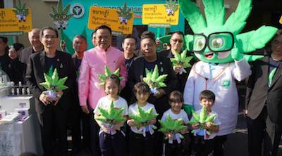 Thai PM Launches Govt Medical Cannabis Website
