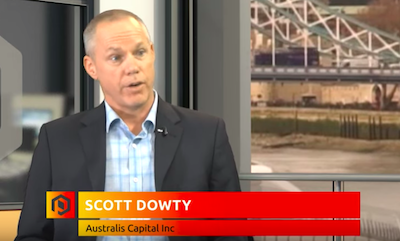 "Video: Scott Dowdy CEO Australis Capital Talks Of  ""Transformative"" Reverse Merger With Folium"