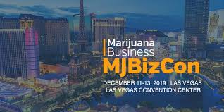 Chris Walsh, president and incoming CEO of Marijuana Business Daily Gives Keynote Speech At MJ Biz Con In Las Vegas