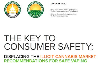 NCIA (National Cannabis Indiustry Assoc) USA Publishes Vaping Illness & Policy Report
