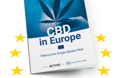 "ACTIVE Publish ""CBD in Europe"" Report"
