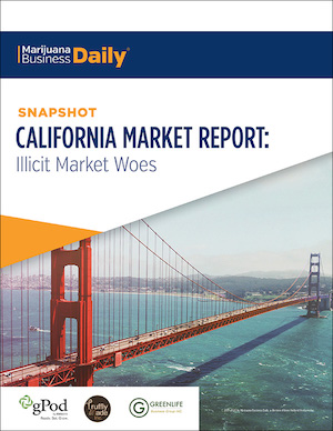 MJ Biz Publish New Report: California Market Report – Illicit Market Woes