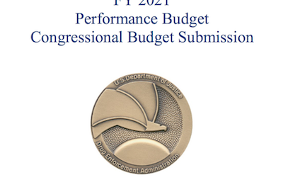 Document: U.S. Department of Justice Drug Enforcement Administration FY 2021 Performance Budget Congressional Budget Submission