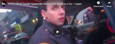 New York City Policeman's Bodycam Has Him Planting Evidence (Cannabis) The Second Time