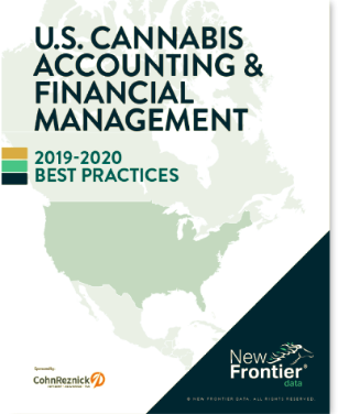 New Publication: U.S. Cannabis Accounting & Financial Management Report:2019- 2020 Best Practices.