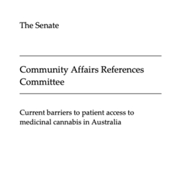 "Full Report Now Published: ""Current barriers to patient access to medicinal cannabis in Australia"""