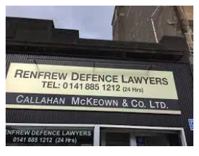 Scottish Lawyer Arrested For Cannabis Possession Whilst In Court Representing A Client