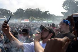 Don't Think About 420 Partying In San Francisco.