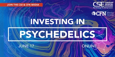 Investing in Psychedelics, an event highlighting psychedelics as an emerging capital market sector.
