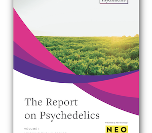 New Report Published: Psychedelics Volume I: Learning The Landscape