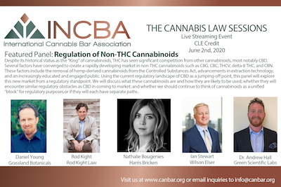INCBA – The Cannabis Law Sessions