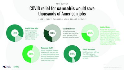 Leafly & National Cannabis Roundtable Publish Report: Congress could save 10,000+ cannabis jobs with access to stimulus funds