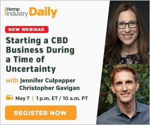 Starting a CBD Business During A Time of Uncertainty – Webinar