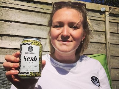 """Lancaster brewer launches new cannabis infused beer range – """"The way I describe it is like when you're driving through the Lake District on a sunny day, listening to your favourite music, that kind of feeling."""""""