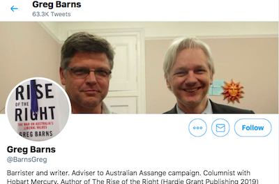 "Australian Barrister Greg Barns Tweets..""Medicinal cannabis should be easy to obtain"" & case of soldier with chronic pain is example of human rights abuse"