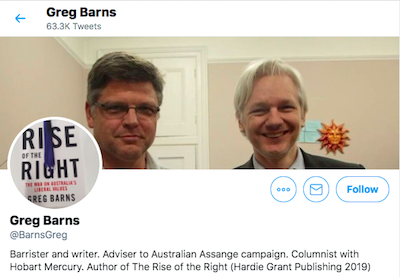 """Australian Barrister Greg Barns Tweets..""""Medicinal cannabis should be easy to obtain"""" & case of soldier with chronic pain is example of human rights abuse"""