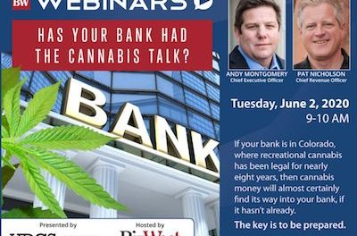 Sponsored Content Whether you like it or not, the future of Cannabis Banking is now.