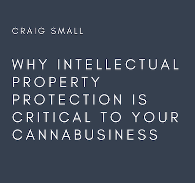 WHY INTELLECTUAL PROPERTY PROTECTION IS CRITICAL TO YOUR CANNABUSINESS