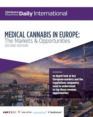 New Title Launched: Medical Cannabis in Europe: The Markets and Opportunities (2nd Edition)