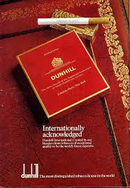 Remember Dunhill Cigarettes ? Now Founder's Grandaughter Starts CBD Outfit