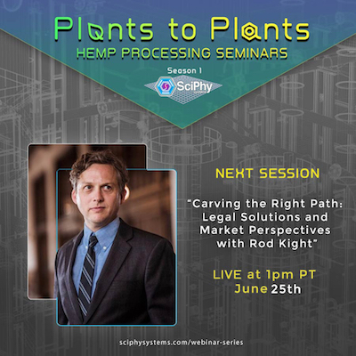 """EPISODE 8 – JUNE 25th LIVE At 1PM PT  """"Carving the Right Path: Legal Solutions and Market Perspectives  with Rod Kight"""""""